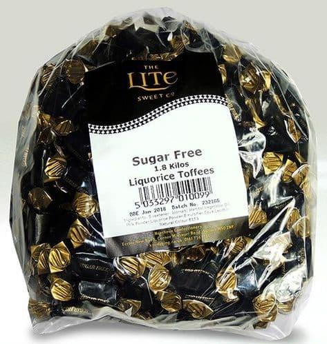 Z12 SUGAR FREE LIQUORICE TOFFEE