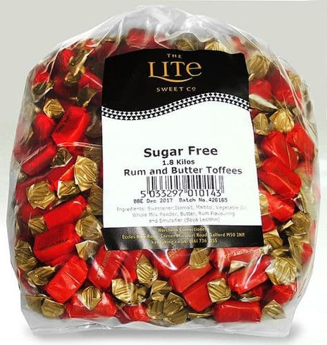 Z17 SUGARFREE RUM BUTTER TOFFEE