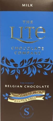 Z53 LITE BELGIAN MILK CHOCOLATE BAR x12
