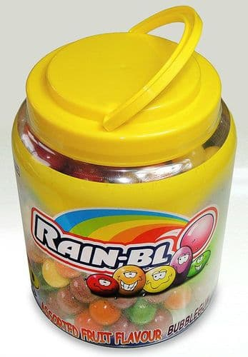 ZED RAINBLO FRUIT BUBBLEGUM TUB