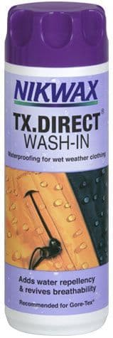 Nikwax TX Direct (Wash-In) 300 ml or 1 litre