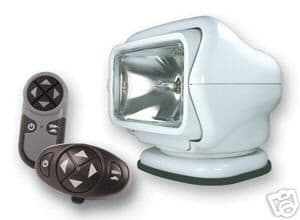 Golight Stryker remote controlled two speed spotlight