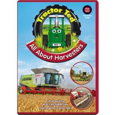 Tractor Ted All About Harvesters DVD