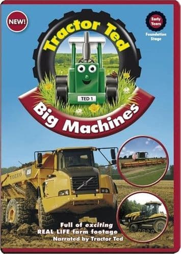 Tractor Ted & Big Machines DVD