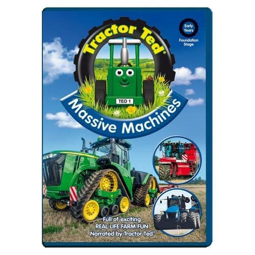Tractor Ted & Massive Machines DVD