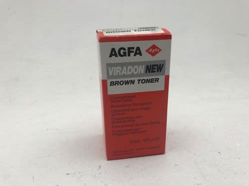 Agfa Viradon liquid brown darkroom paper liquid toner,