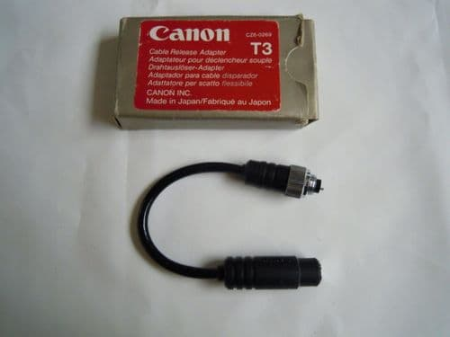 CANON T3 CABLE RELEASE ADAPTER