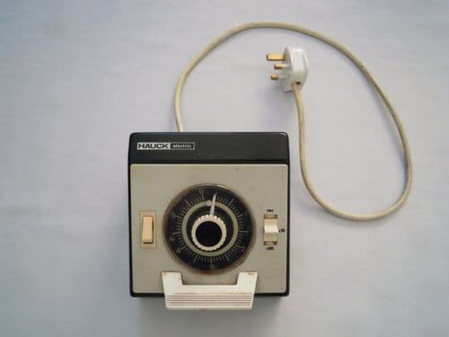 HAUCK ELECTRONIC ENLARGER TIMER