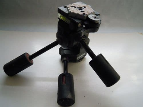 MANFROTTO 229 TRIPOD HEAD WITH QUICK RELEASE PLATE