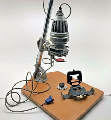 Meopta Axomat 1a enlarger and 50mm lens for 35mm printing