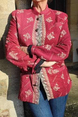 ANTIQUE BLANKET JACKET WAS £165 ONLY SIZE S