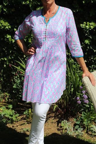 IBIZA TUNIC SHELL WAS £69 NOW ONLY XS  LEFT