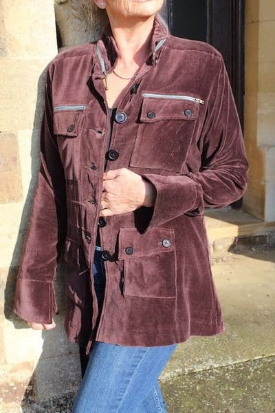 ROMA BROWN JACKET WAS £165 NOW ONLY SIZE XL LEFT