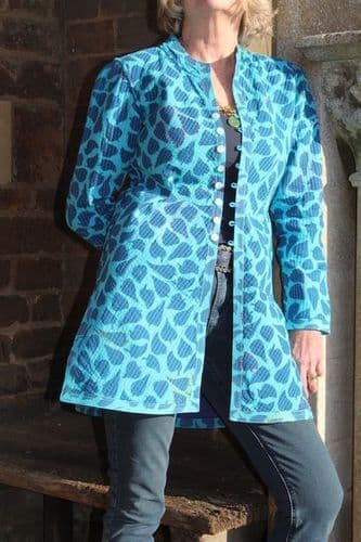 TISA LEAF IN INDIGO/TURQUOISE WAS £185 NOW ONLY XS LEFT
