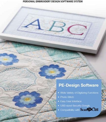 Brother PE Design 10 Embroidery Software - Full Version