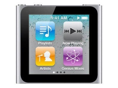 Apple iPod Nano 6th Generation Silver (16GB) Refurbished