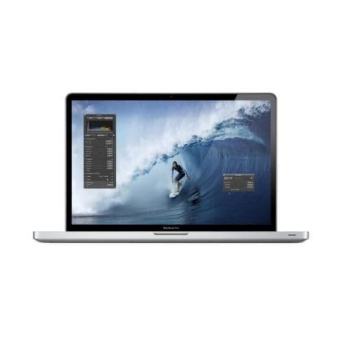 Apple MacBook Pro 17-inch; Intel Core i7 Quad 2.2GHz 4GB Laptop MC725B/A - Refurbished