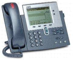 Cisco 7940G Unified VOIP IP Phone - Silver, grey