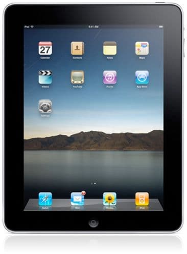 Refurbished Apple iPad 2 with Wi-Fi 16GB Black
