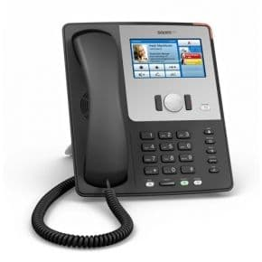Snom 870 SIP VoIP Ethernet Phone Colour LCD Display Touch Screen PoE