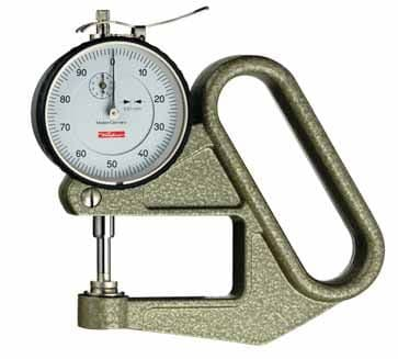 KÄFER Dial Thickness Gauge J 50 / 30 with Lifting Device - Reading: 0.01 mm