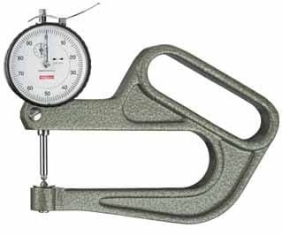 KAFER Dial Thickness Gauge J 100 with Lifting Device - Reading: 0.01 mm