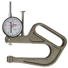 KAFER Dial Thickness Gauge K 100 with Lifting Lever - Reading: 0.1 mm