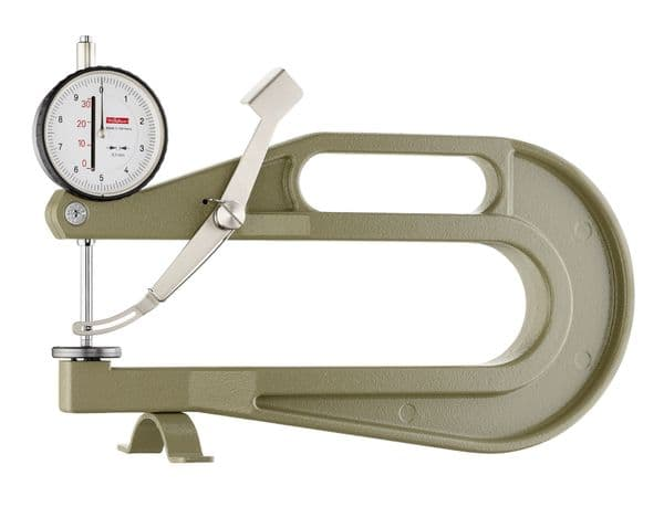 KAFER Dial Thickness Gauge K 200 with Lifting Lever - Reading: 0.1 mm