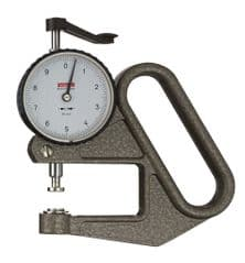 KAFER Dial Thickness Gauge K 50 - Reading: 0.1 mm