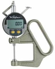 KAFER Digital Thickness Gauge FD 50/25 with Lifting Device - Reading: 0.001 mm