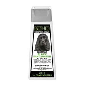 Black Silky Smooth Shampoo - 300ml (1.2 Litre Diluted) Cocker Spaniel, Flat Coated Retriever, Gordon