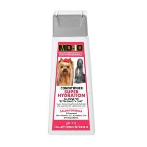 MD10 Conditioner Super Hydration 300ml Approx 10-12 Litre Diluted - Afghan Hound Lhasa Apso Poodle Bichon
