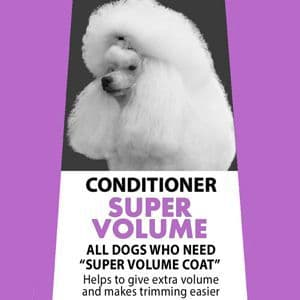 MD10 Conditioner Super Volume 500ml  (diluted 12-13 Liter) - Poodle, Bichon, Chow Chow, Pomeranian, Nordic, Samoyed, Malamute