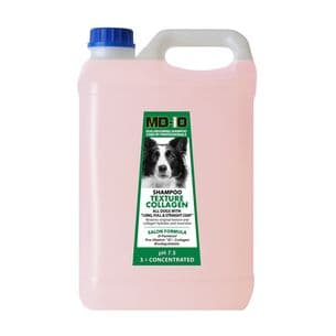 MD10 Texture Collagen Shampoo - 2 Litre  (8 Litre Diluted) Bearded Collie, Border Collie, Lhasa Apso, Tibetan Terrier, Briard, Wire hair Dachshund