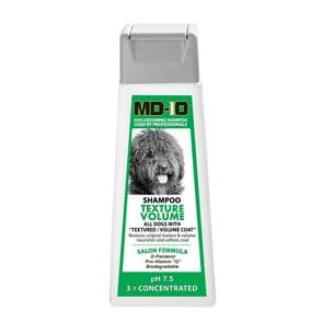 MD10 Texture Volume Shampoo 300ml  (1.2 Litre Diluted) Spanish Water Dog, Poodle, Bichon Frise, Curly Coat, Shiba, Lagotto