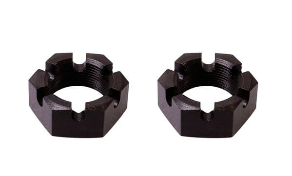 46mm rear hub nuts sold as a pair VW Type 2 and Type 25 1964-1990