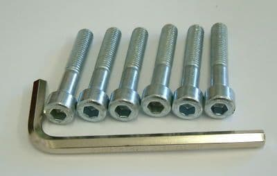 6 CV joint bolts with allen key tool VW Beetle and Type 2