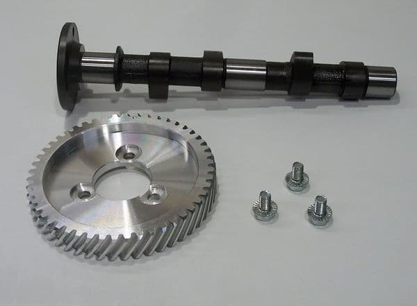 Engle 110 Cam shaft with bolt on cam gear wheel VW air cooled Type 1 case