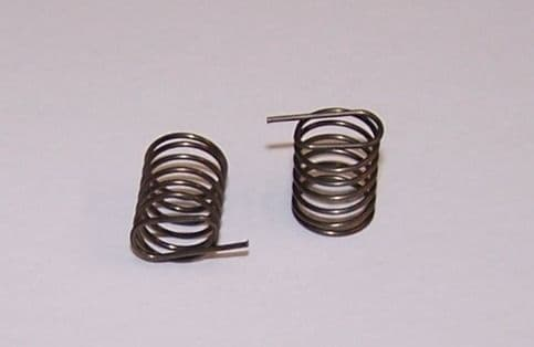Fan housing flap springs a pair also Heater control & throttle linkage VW T1 & 2