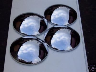 Baby moon hub caps, Set of 4, VW Beetles up to 1966 or T2's to 1971
