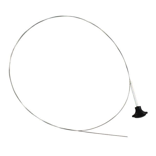 Bonnet release cable with black knob for VW Beetle and Karmann Ghia up to 1967