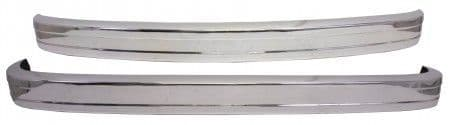 Bumper Set in Polished Stainless Steel for VW Type 2 Bay window 1973-1979