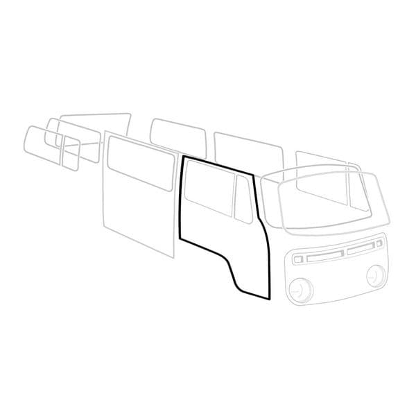 Cab door seal VW Type 2 1968 to 1979 Right side