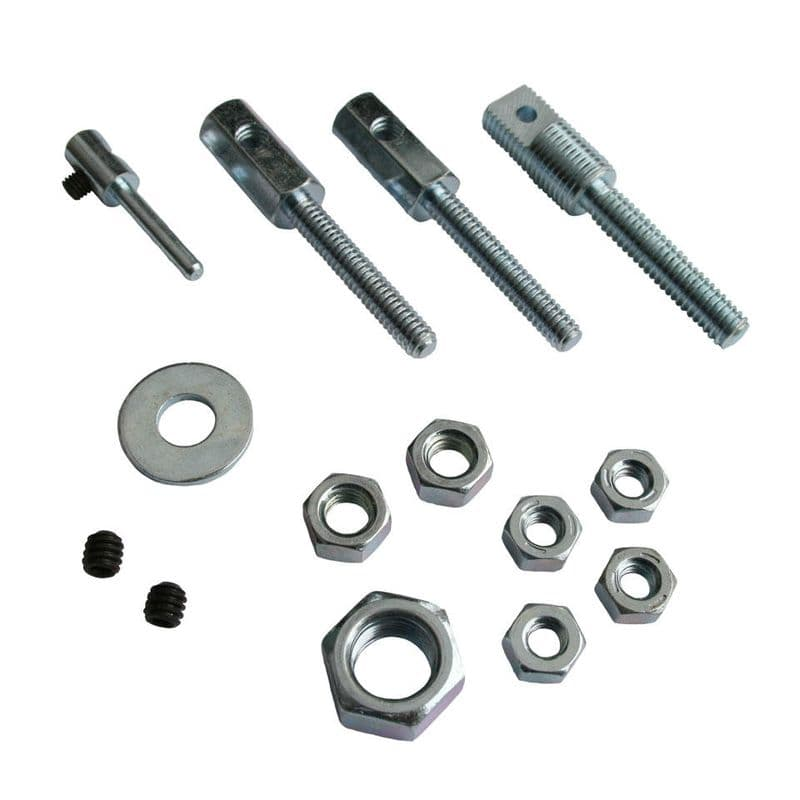 Cable shortening kit for throttle, hand brake and clutch cables, Buggy, VW Beetle