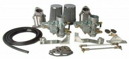 Carburettor Kit 34 EPC Twin Port for VW Beetle and Type 2 1300-1600cc air cooled