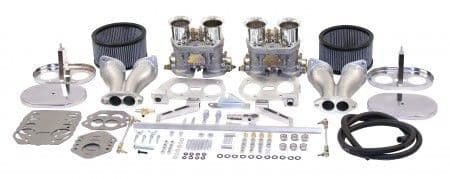 Carburettor Kit Twin EMPI 44 HPMX for VW Beetles and Type 2 engines over 1800cc