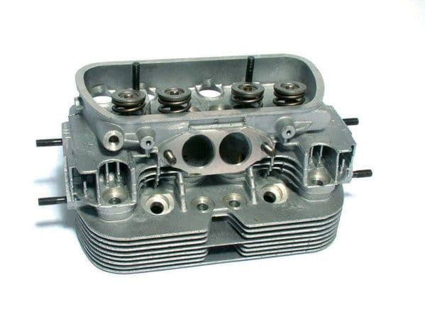 Cylinder head VW 1600cc air cooled Twin port up to 1979 complete with valves