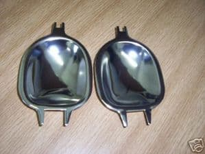 Door handle finger plates VW Type 1 Beetle 1971 to 1979