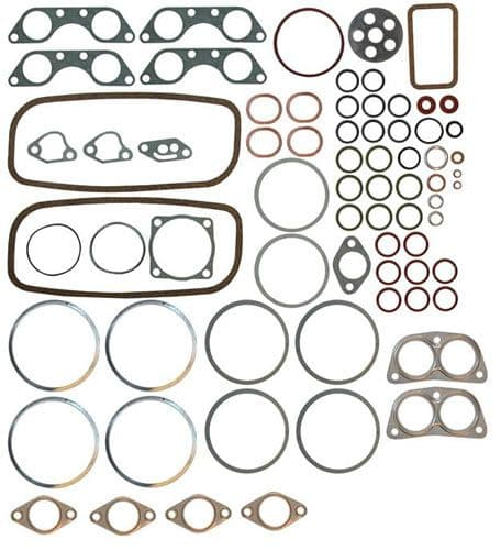 Engine gasket set VW Type 2 air cooled 1800cc and 2000cc 1974-1978