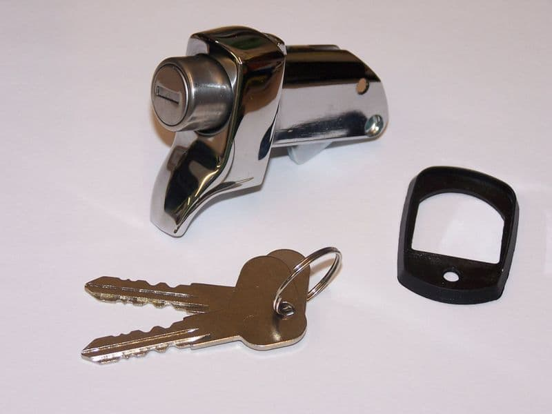 Engine lid lock with keys VW Type 2 8/1971 to 1979
